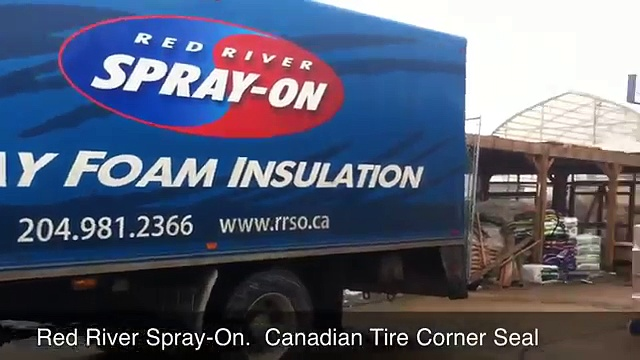 Spray Foam Insulation – Corner Seal