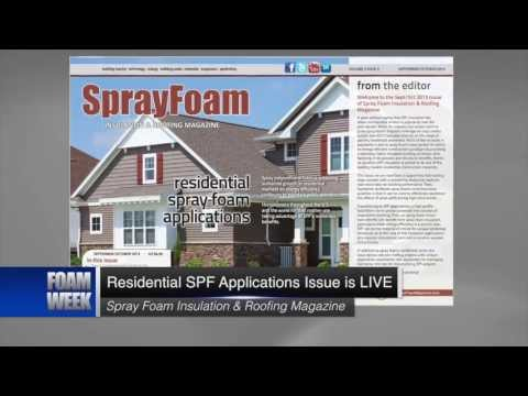 FOAM WEEK TV – Spray Foam News – September 20, 2013