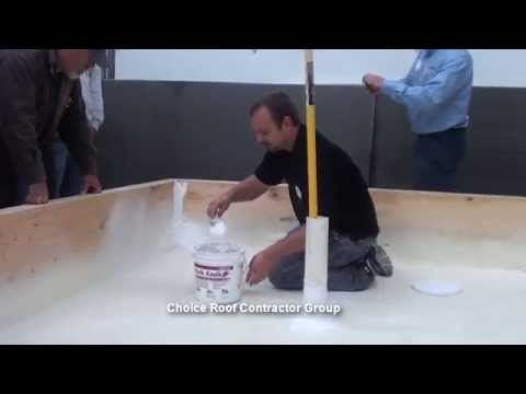 Spray Foam Roofing Tip from Commercial Roofing Expert