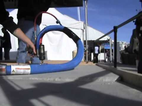 World of Concrete 2012 Live Polyurethane Concrete Raising